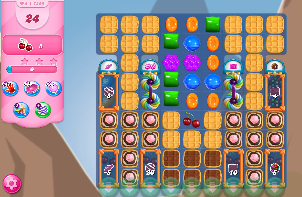 Candy Crush Saga level 7899