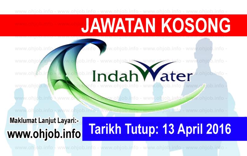 Jawatan Kerja Kosong Indah Water Konsortium (IWK) logo www.ohjob.info april 2016