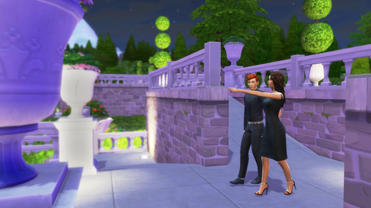 My sims dating