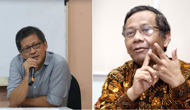 Mahfud MD Bicara Rocky Gerung: Kimia Intelektual Kami Cocok, Bisa Saling Bersinergi