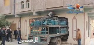 شاحنة نقل  البوطان  تصطدم بالحائط  بشكل  غير  مسبوق