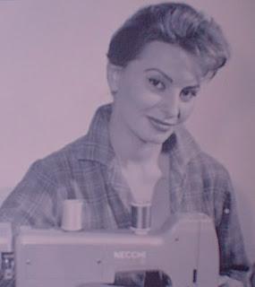 Sofia Loren publicito a Necchi