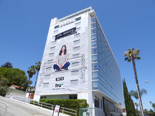 Im Sorry series launch billboard