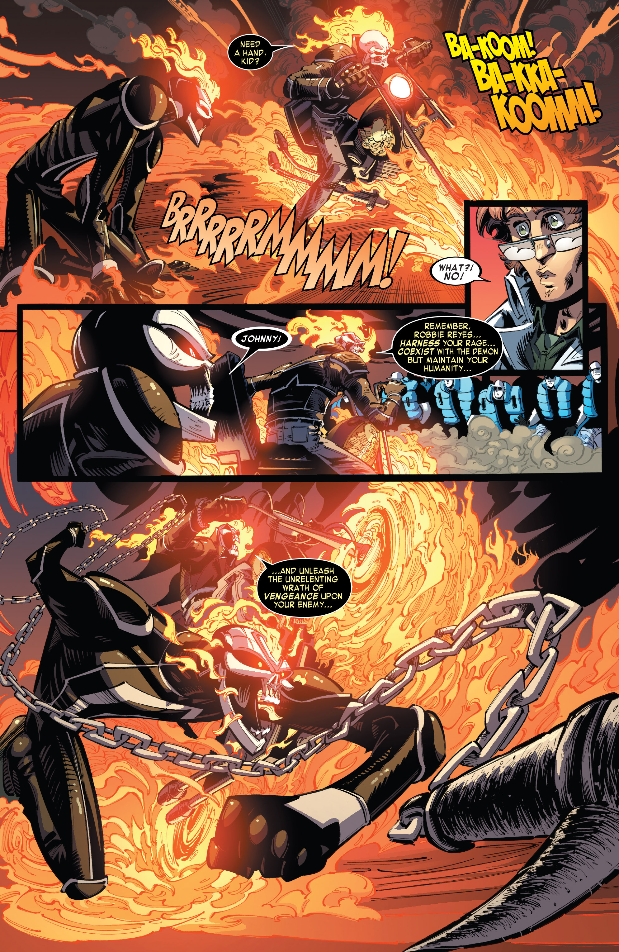 Read online All-New Ghost Rider comic -  Issue #10 - 19