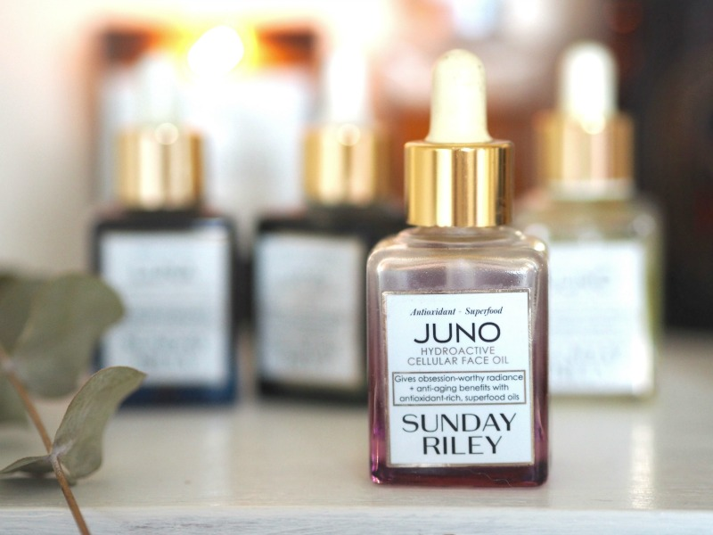 sunday riley face oils juno luna UFO Flora Artemis