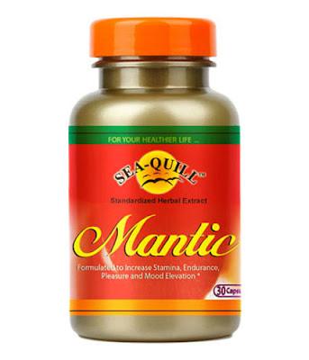 Sea Quill Mantic, Suplemen Seksualitas Pria dan Impoten