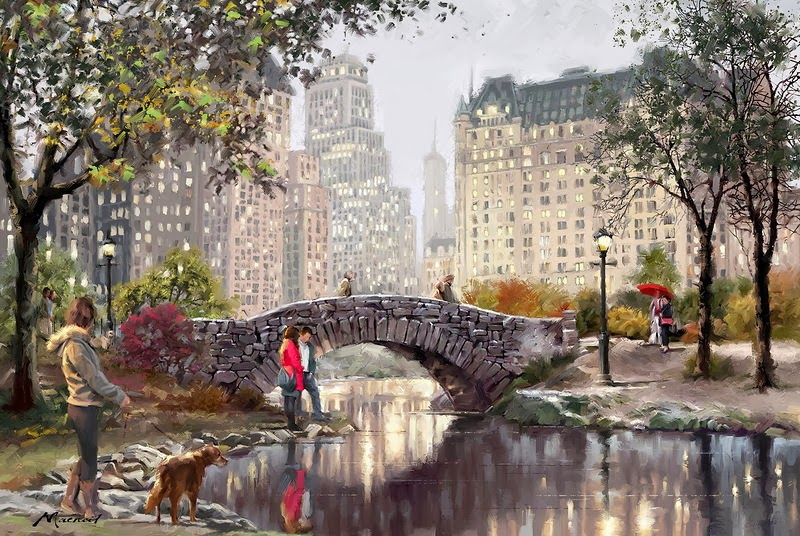 Richard MacNeil | Arquitetura da cidade / pintor figurativo