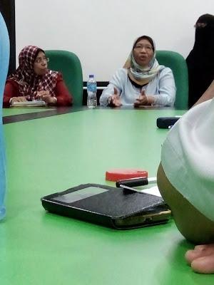 Sesi Perkongsian Santai Pengalaman Belajar Bersama Prof Datuk Dr. Noriah Ishak di UUM