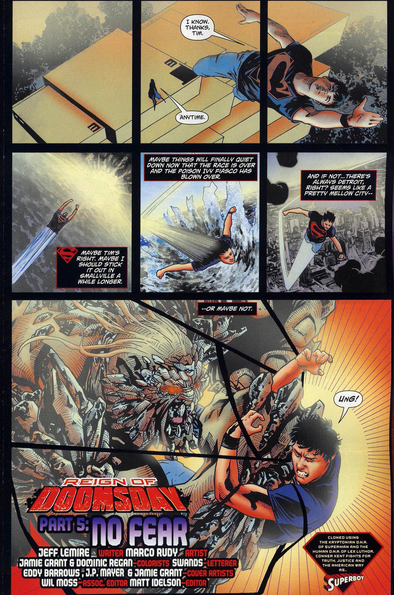 Superboy [I] Issue #6 #6 - English 5