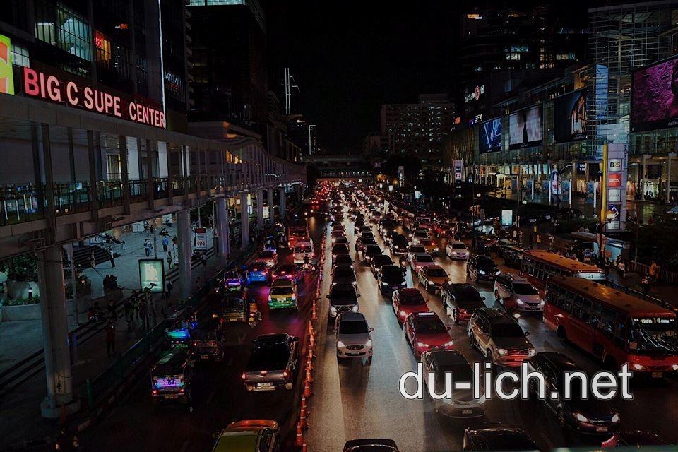 Bangkok Thái Lan về đêm