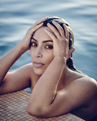 Kim Kardashian hot fashion model photo