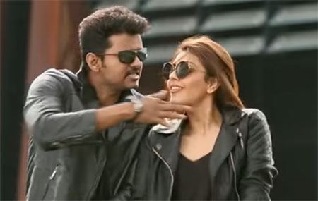 Mersal – Macho Tamil Song Promo | Vijay, Kajal Aggarwal | A R Rahman