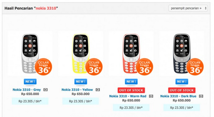 Nokia 3310 'Reborn'