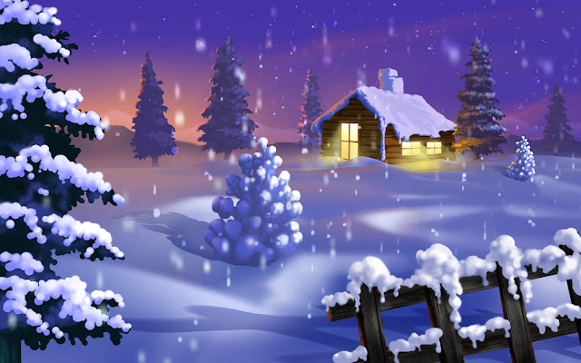 Christmas House HD Wallpapers Pictures Free Download