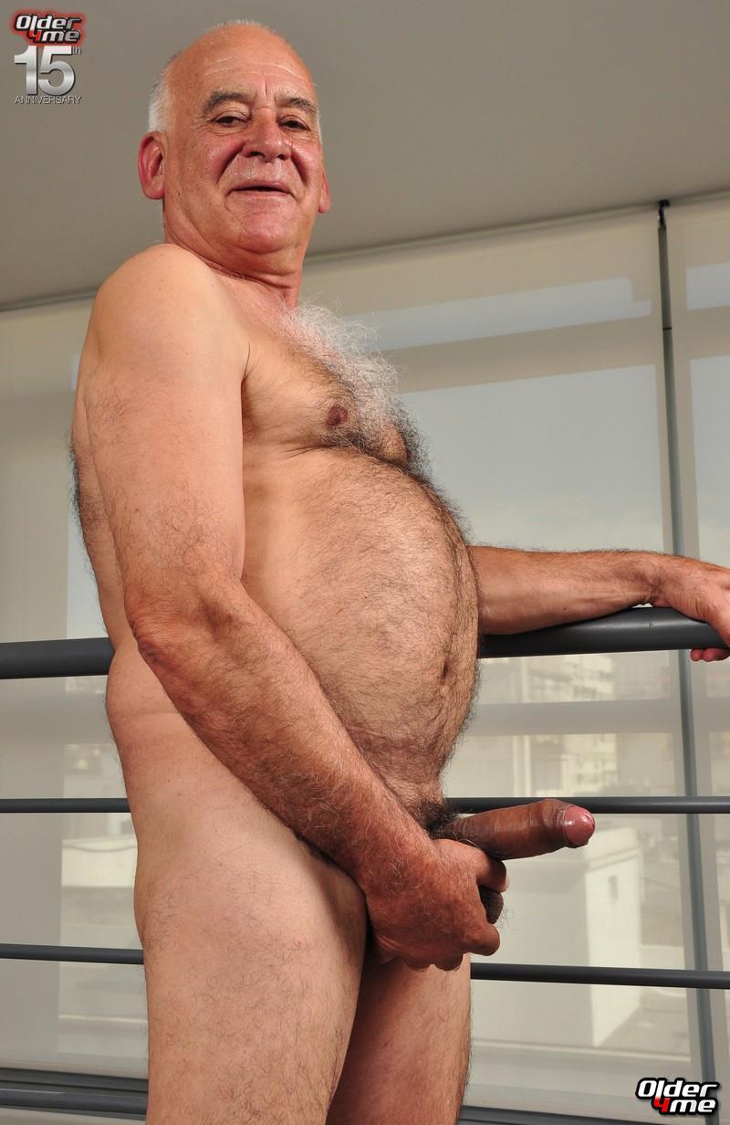 Old man gay nude