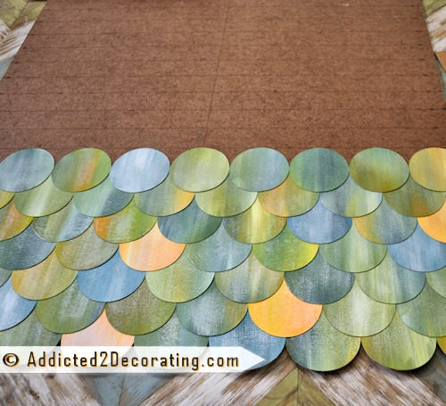 Fish Scale Wall Art Inspired by the Sea - Coastal Decor ...