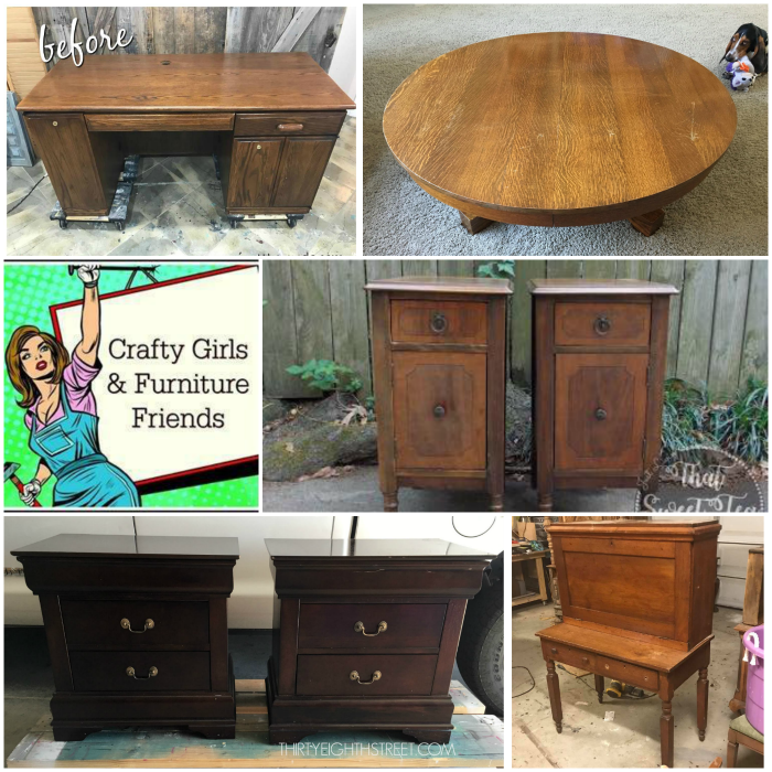 furniture makeovers, restoration, refinishing