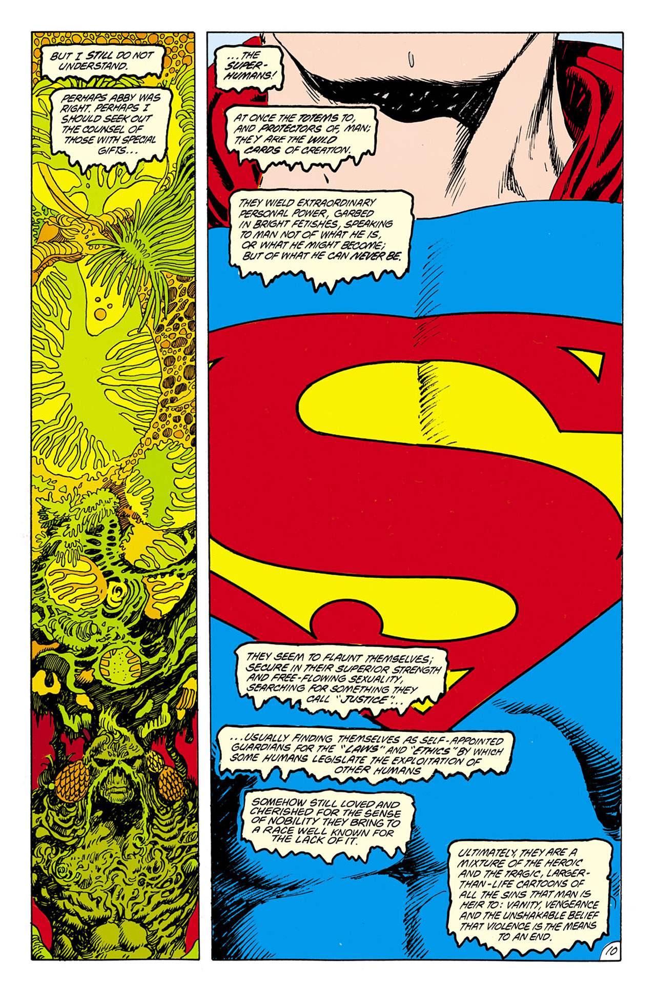 Swamp Thing (1982) Issue #75 #83 - English 11