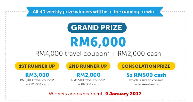 grand prize contest you need a holiday lah