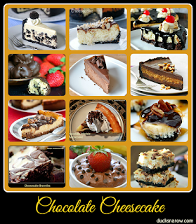 pie, cheesecake, chocolate desserts
