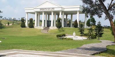 Grave in Sandiego Hills Karawang Indonesia. Best Grave Favorite Garden Tomb