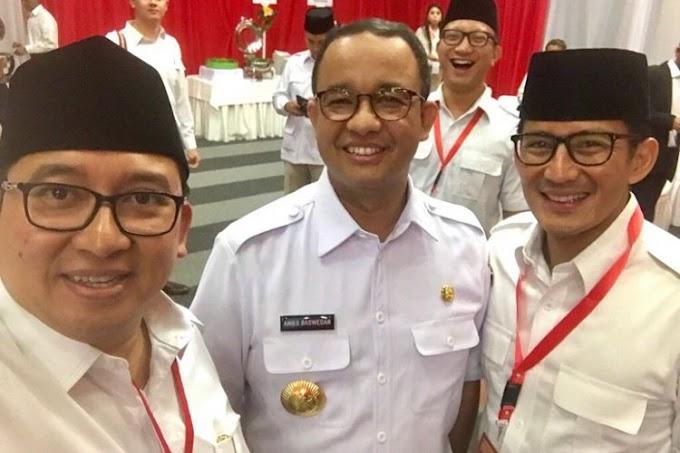 Anies Dukung Prabowo-Sandiaga dengan Hadiri Konferensi Nasional Gerindra