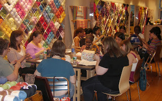 Yarn Crafting Group at Lion Brand Yarn Studio