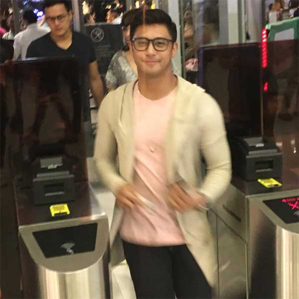 Rocco Nacino at Britney Spears Manila Concert