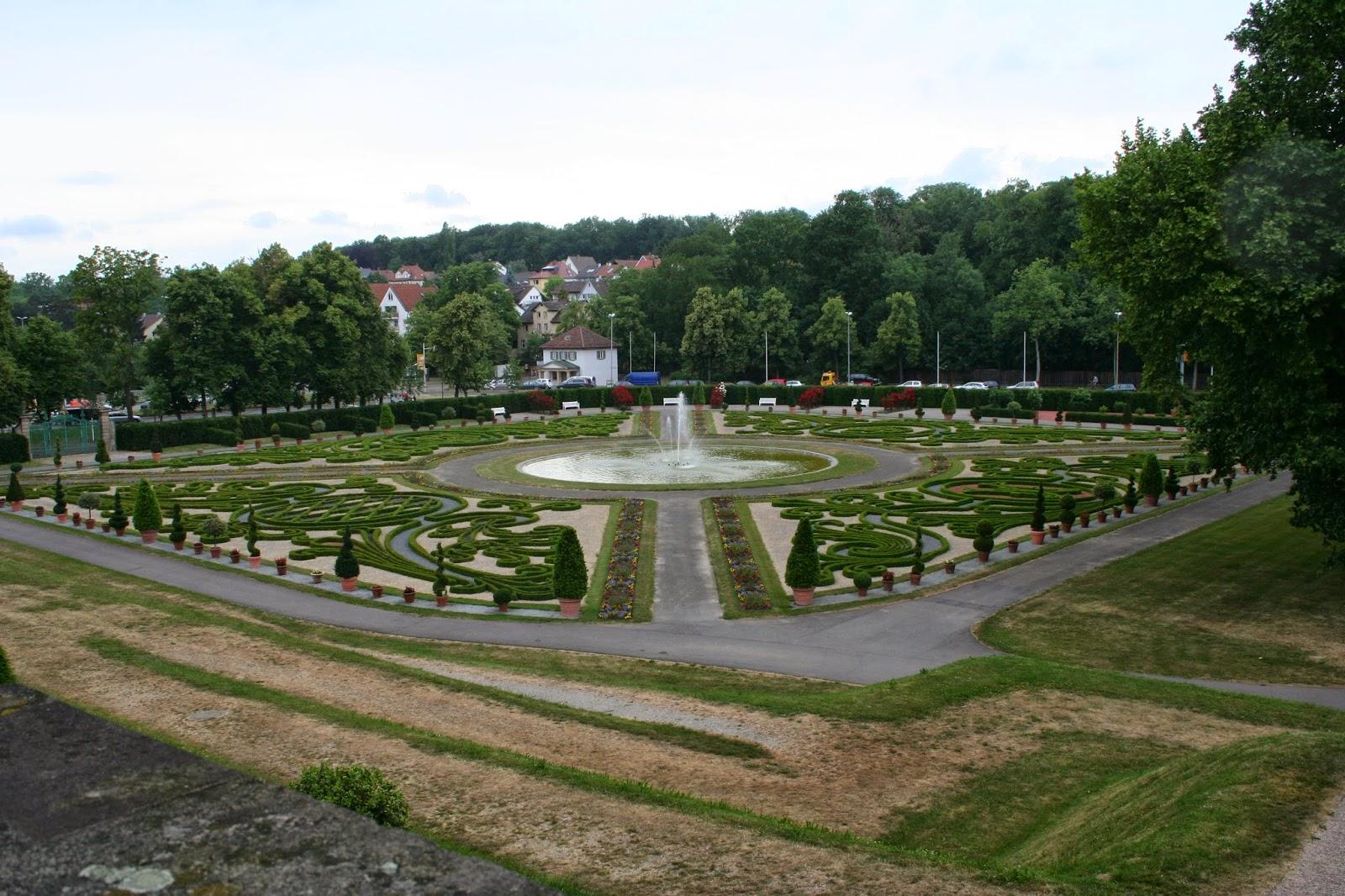 foto del Jardines del Residenzschloss de Ludwigsburg