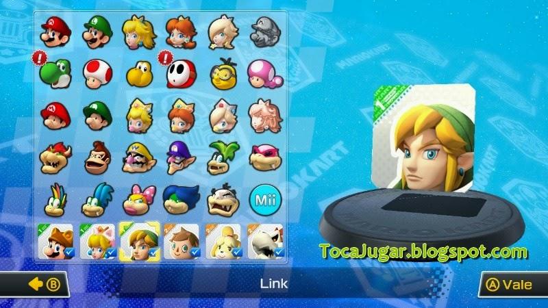 Toca Jugar Mario Kart 8 Nuevos Circuitos Y Personajes