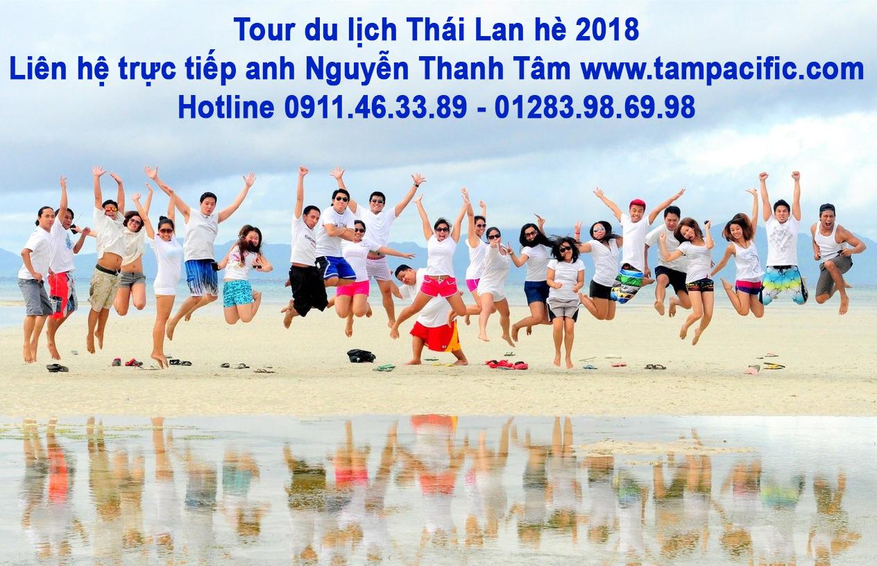 tour du lịch thái lan hè 2018