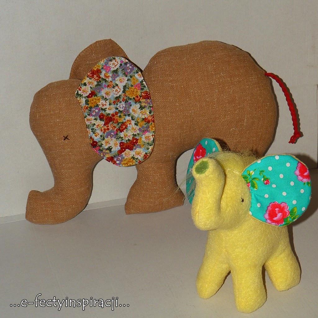 słoń maskotka