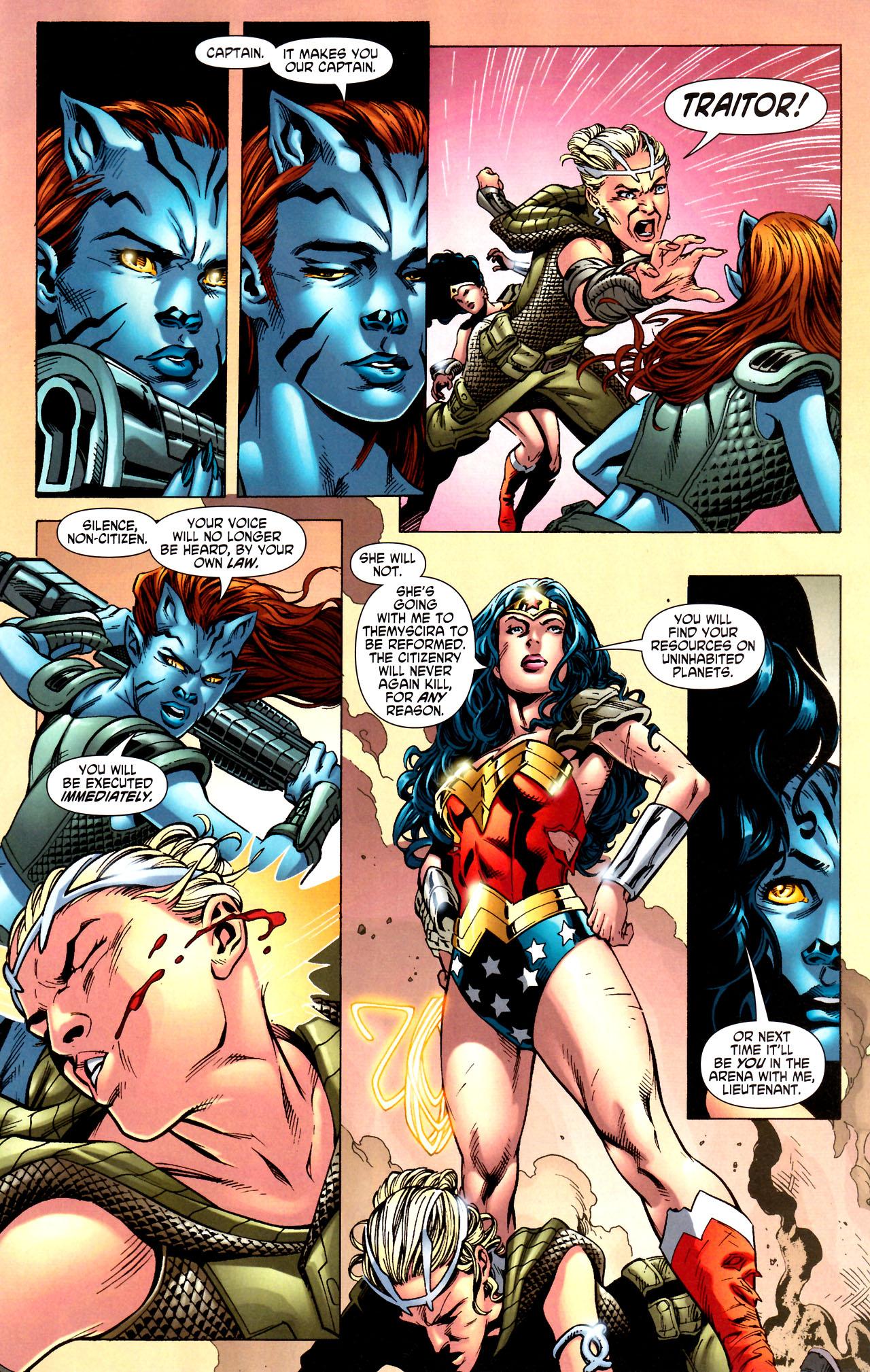 Read online Wonder Woman (2006) comic -  Issue #44 - 21