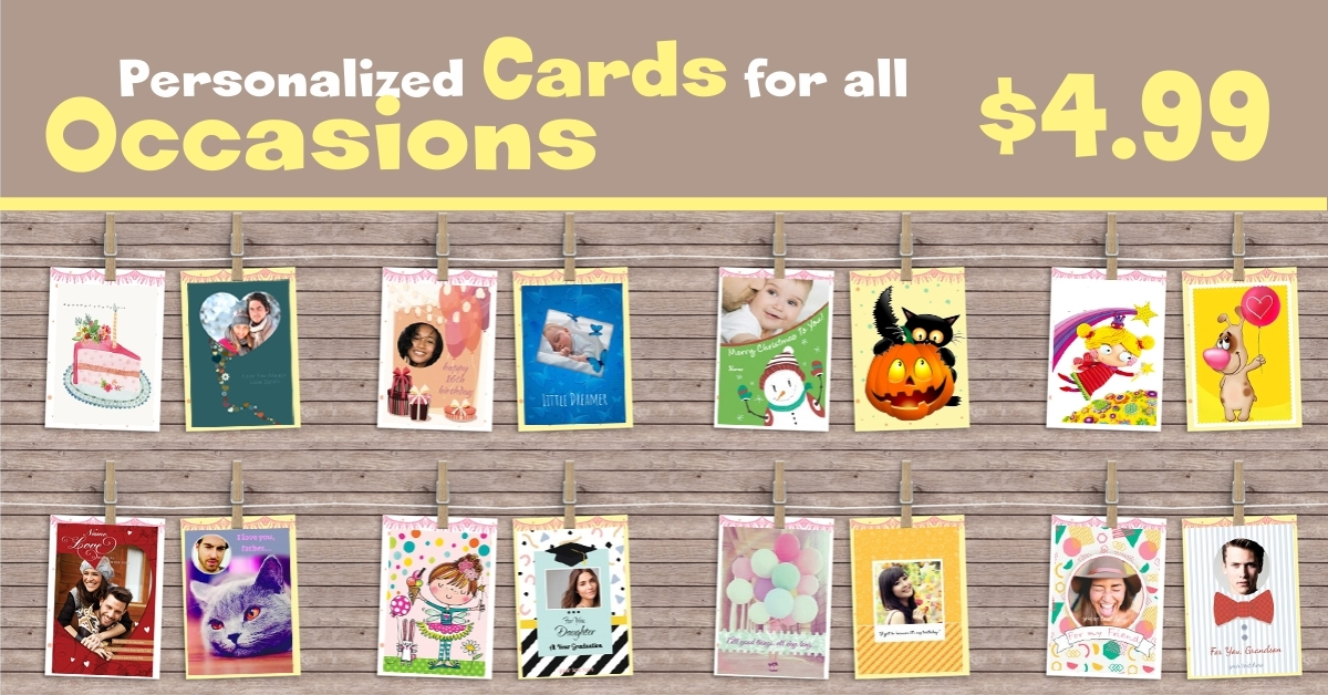 CA Is Canadas Newest Option In Inexpensive Personalized Gift Giving The Site Offers A Selection Of Attractive REAL Greeting Cards For Any Occasion