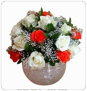 Bunga Meja Ke RSUD Serang