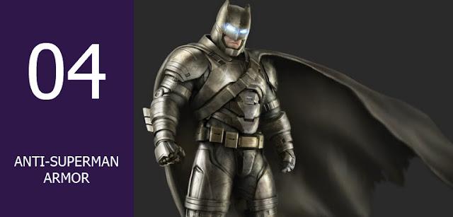 Macam-macam Armor Batman
