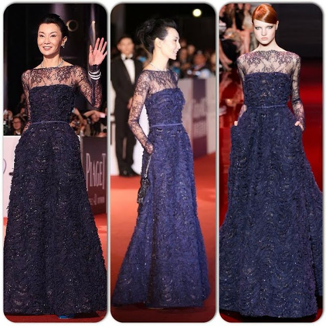 Maggie Cheung in Elie Saab Couture – 50th Golden Horse Awards