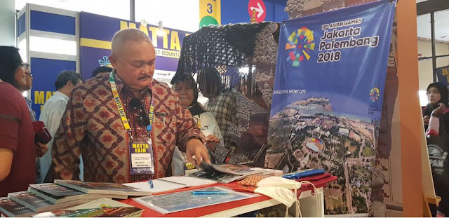 Bangga Booth Kemenpar, Sumsel Optimis Usung Sport Tourism