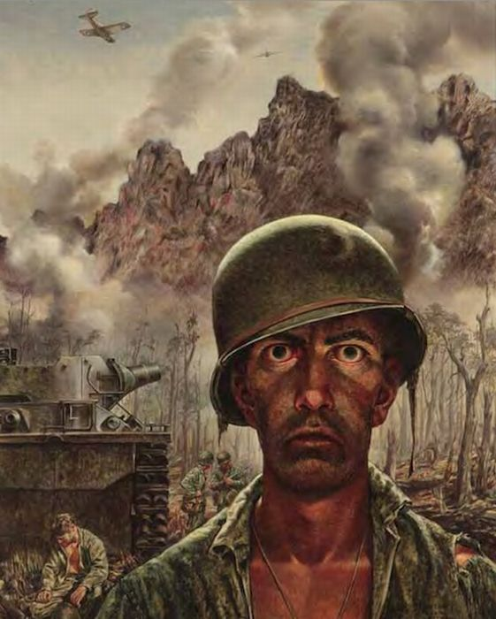 Drawings/Paintings by US Soldiers - from WWI to the present