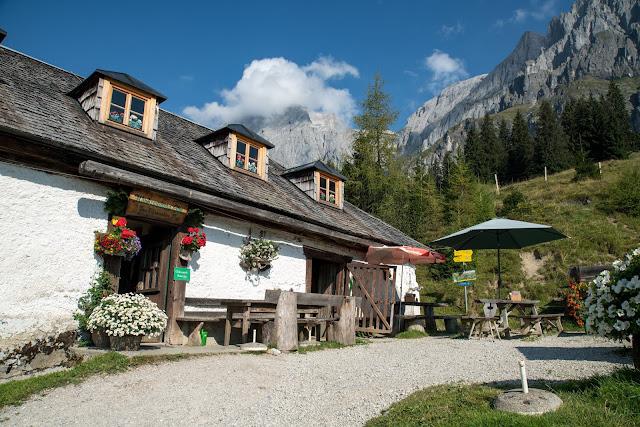 Vier-Hütten-Wanderung Mühlbach  Wandern am Hochkönig  Wanderung SalzburgerLand 06