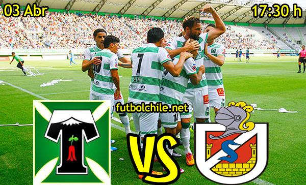 Deportes Temuco vs Deportes La Serena,