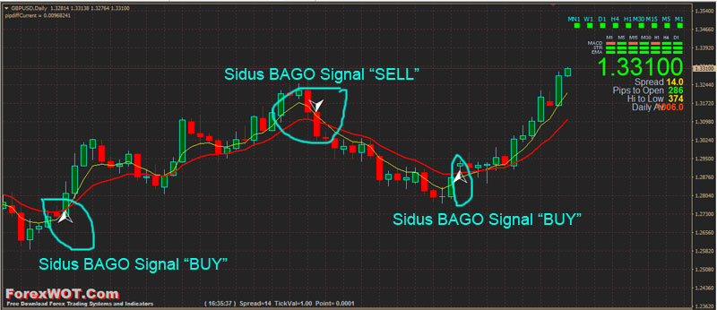 Buy and sell positions in forex