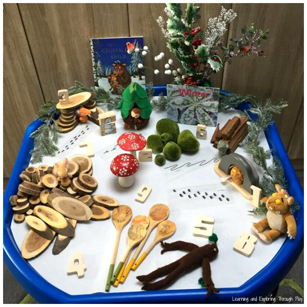 The Gruffalos Child Winter Tuff Tray