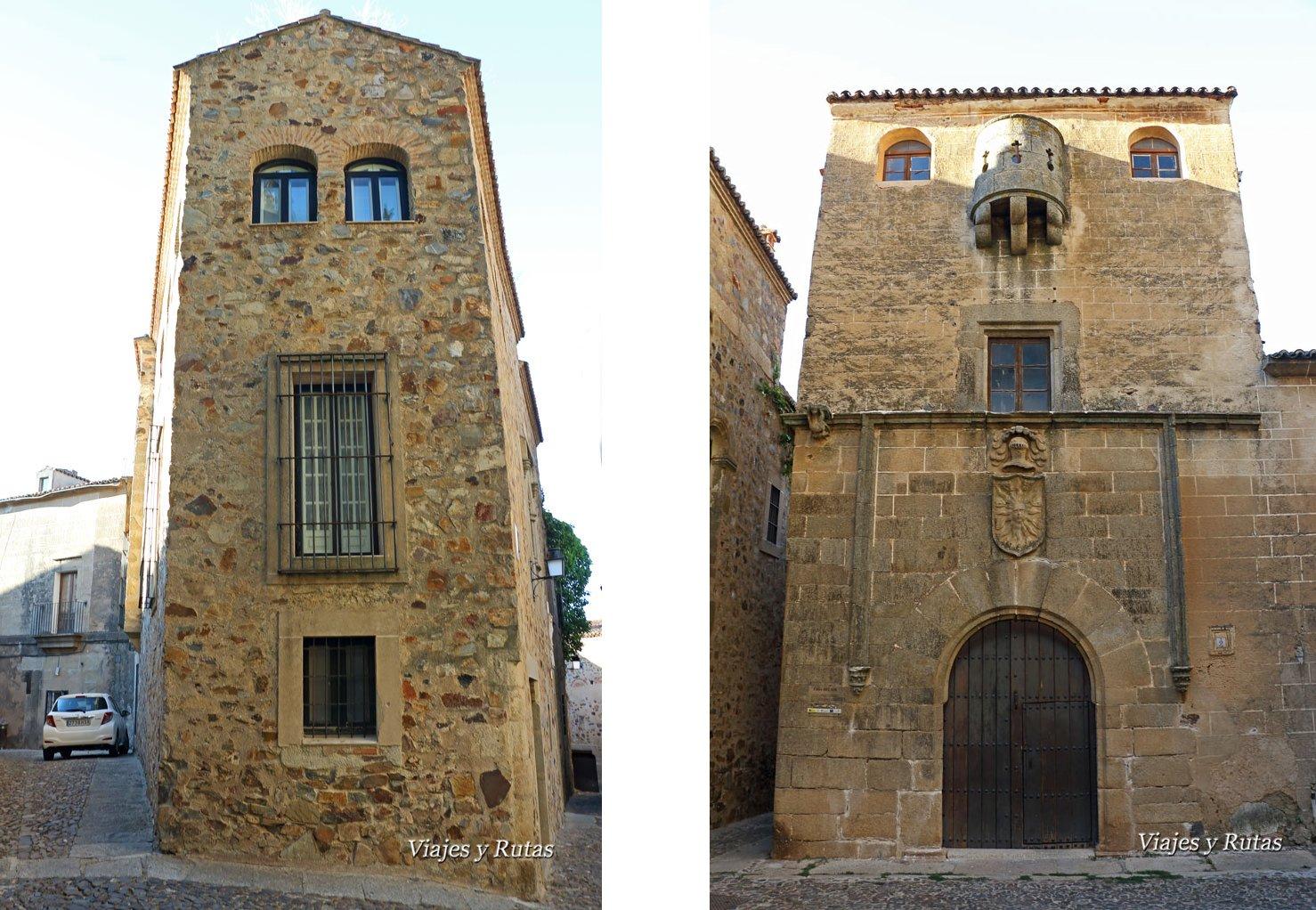 Casas Águila y Sol, de Cáceres