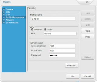 Setting APN Telkomsel Huawei