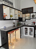 furniture interior semarang - kitchen set minibar 06