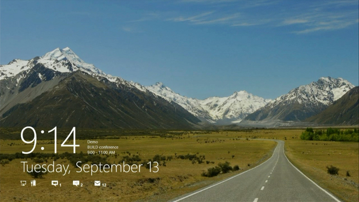 Lockscreen Windows 8