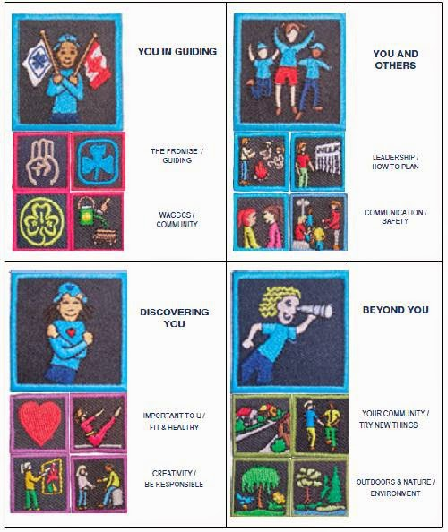 Tracy's Guiding Blog: Girl Guide Badge Scarf and Program ...