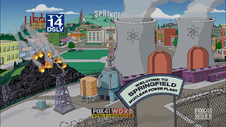 Springfield Nuclear Plant Problems