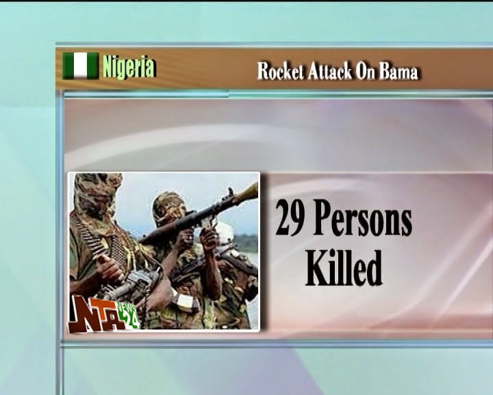 rocketimg Rocket attack on Soye village in Borno state kills 31, injures many